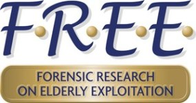 Forensic Research on Elderly Exploitation Logo