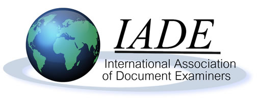 International Association of Document Examiners (IADE) Logo