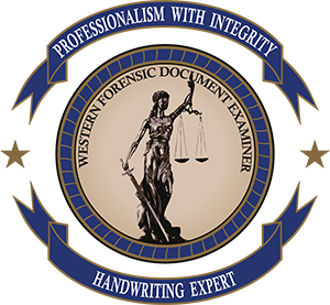 Western Forensic Document Examiner Logo